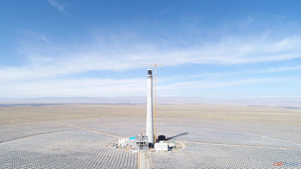 POWERCHNIA Gonghe 50MW CSP Project strives to connect to the grid by June 30