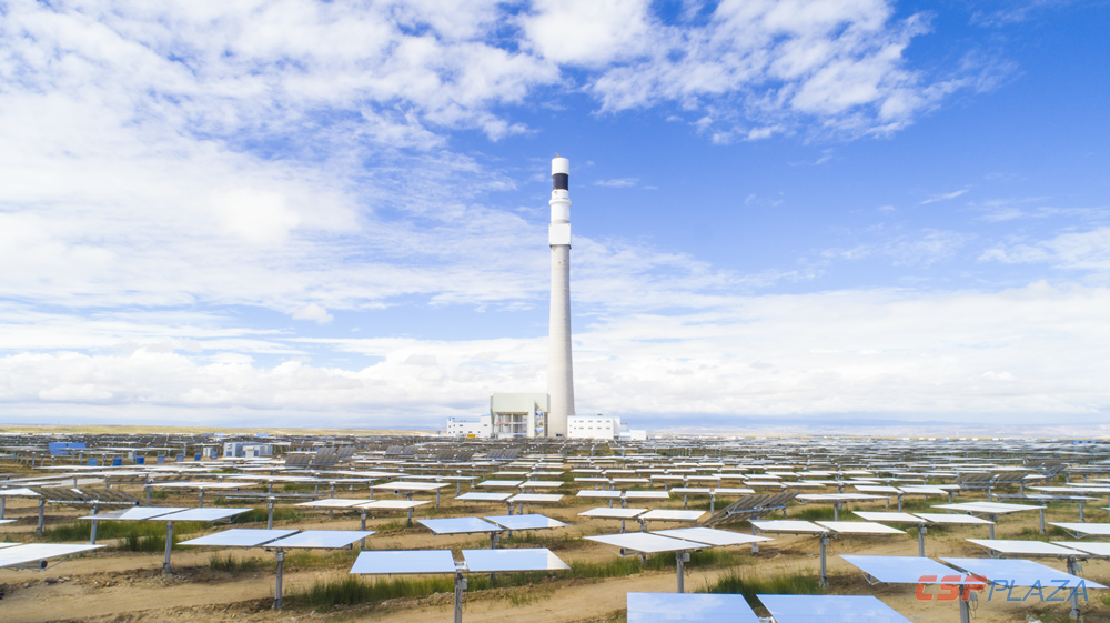 Another two tower CSP projects in China to be put into operation soon