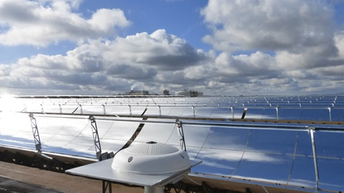 Cloud camera system WobaS provides concentrated solar power plants with reliable radiation nowcasts