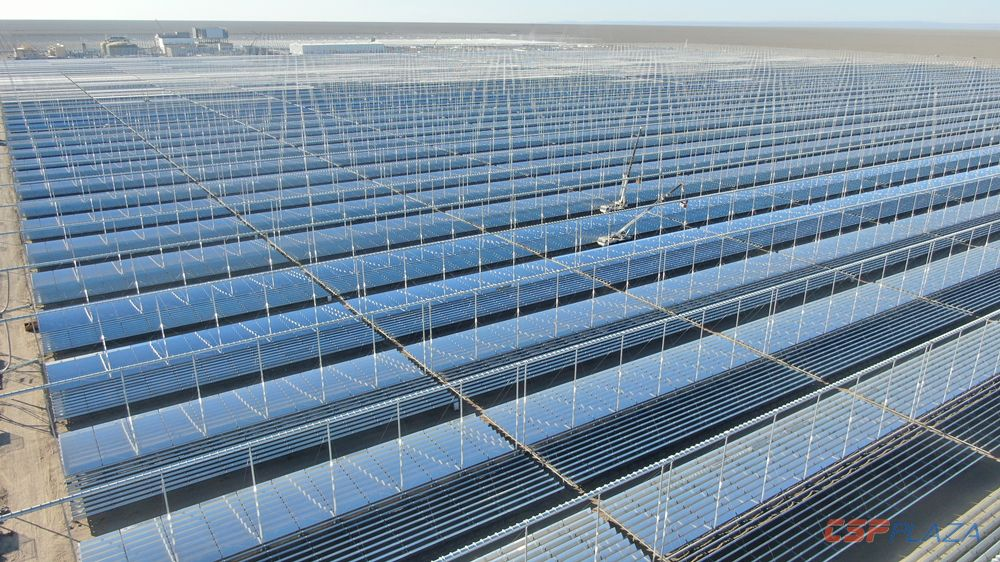 Lanzhou Dacheng Dunhuang 50MW CSP Project achieves initial energization