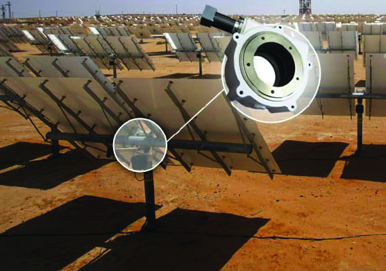Worm gear technology helps CSP plant stay locked on target