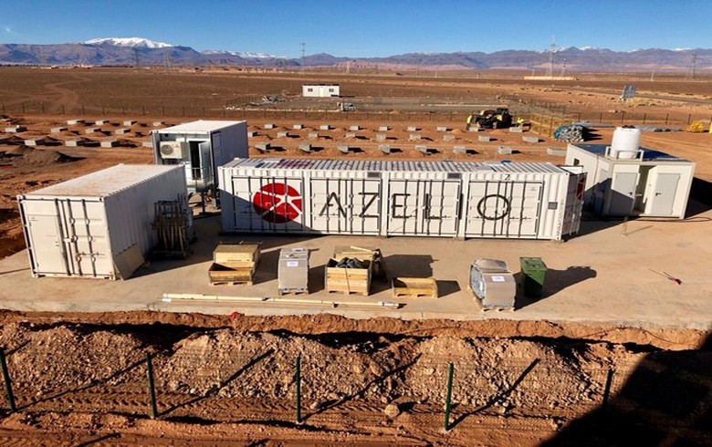 Azelio's thermal storage systems produce 1st power in Morocco