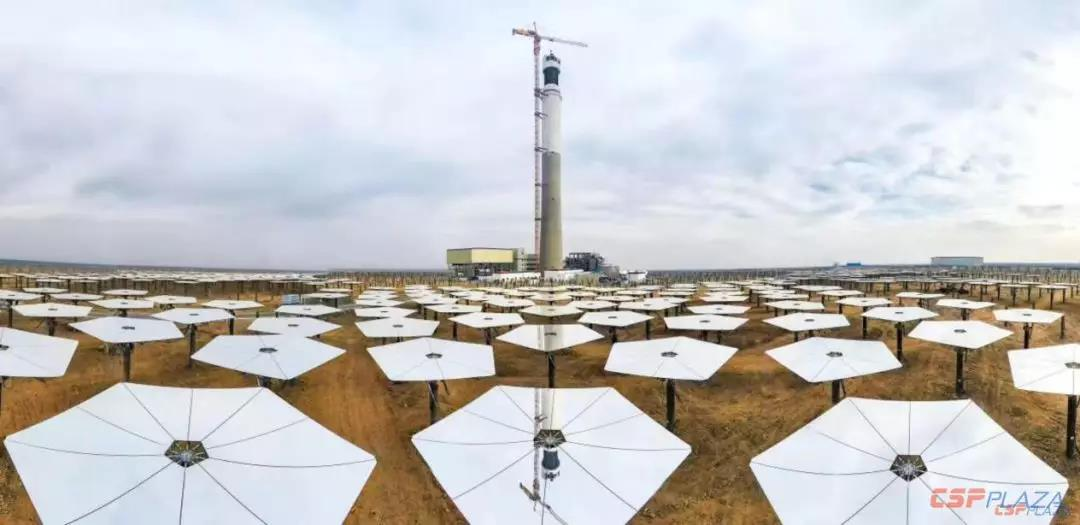 Another Two Concentrated Solar Power plants in China synchronized to the gird by the end of 2019