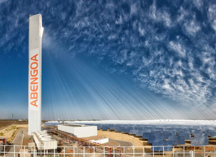Abengoa Spain promotes millionaire investment in China to boost concentrated solar power plant of more than 50MW