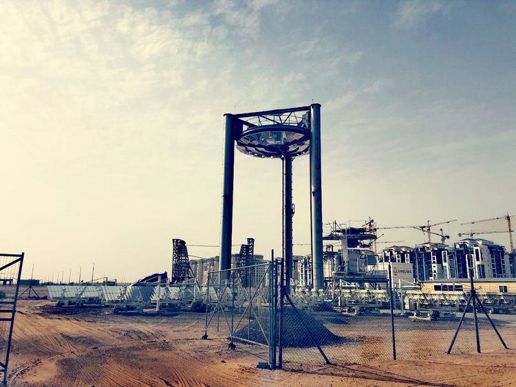 UAE's first 'solar concentrator' installed at Masdar City Campus