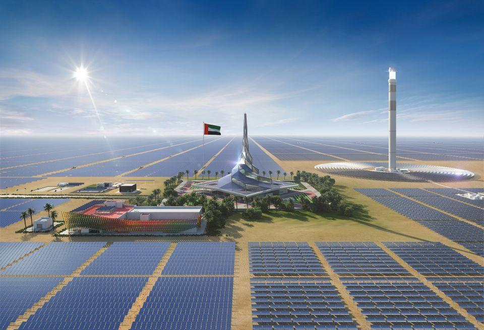 Molten Salt Receiver for Dubai 100MW  CSP Project has been installed