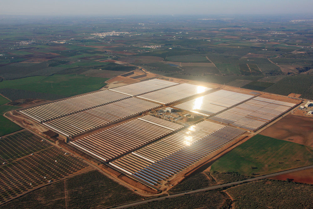TSK sells its La Africana concentrated solar power plant to the Q-Energy fund