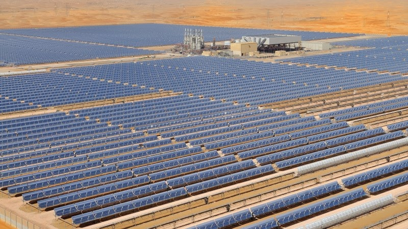Shams 1 is the largest Concentrated Solar Power (CSP).jpg